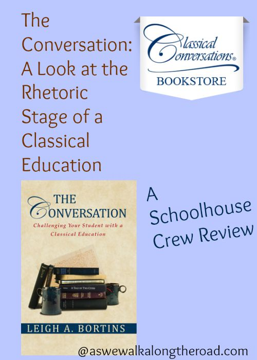 A review of The Conversation, addressing the rhetoric stage of a Classical model of education