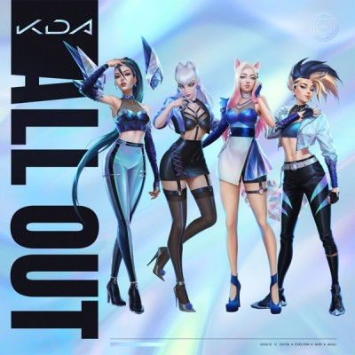 K/DA - ALL OUT (feat. League of Legends) (EP) (2020) -Album Download, Itunes Cover, Official Cover, Album CD Cover Art, Tracklist, 320KBPS, Zip album