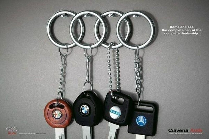 Audi: Come and see the complete car