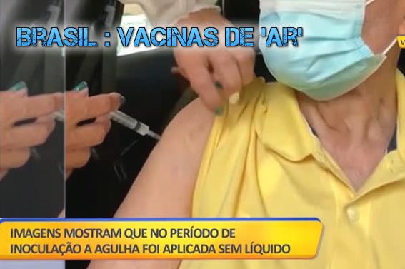 "Vacinas de ""ar"" no Brasil"