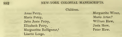 E. B. O'Callaghan, editor, Documents Relative to the Colonial History of the State of New-York; procured in Holland, England and France, Vol. X, (Albany, New York: Weed, Parsons and Company, 1858), p.882; digital images, Internet Archive (https://archive.org/details/documentsrelativ10newyuoft/page/n4/mode/2up : accessed 18 May 2020).