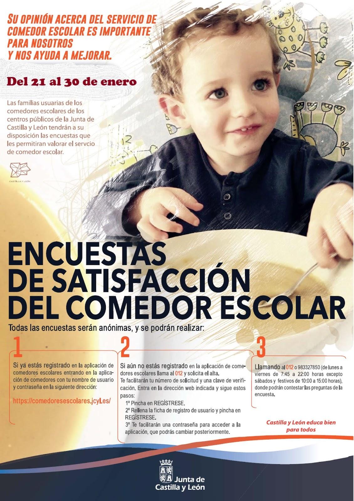 Ayudas Comedor Jcyl | Comedor Escolar Mediante Contratación Con Una ...