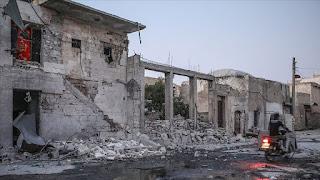 مقتل طفل وجرح 7 مدنيين في غارة جوية للنظام على إدلب
