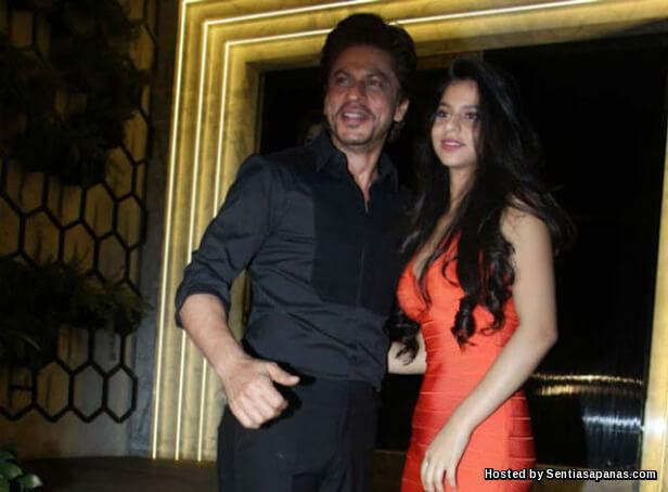 Shah Rukh Khan and suhana