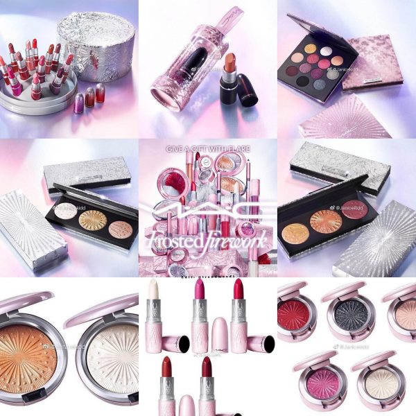 MAC Frosted Firework Holiday2020 Collection