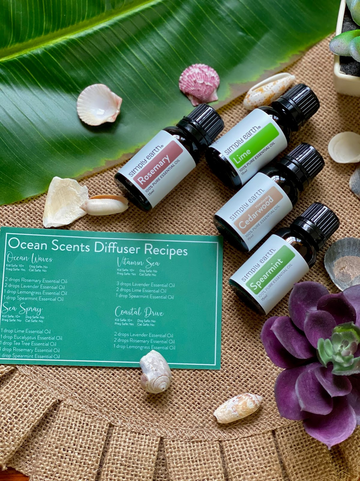 Simply Earth Ocean Scent Set