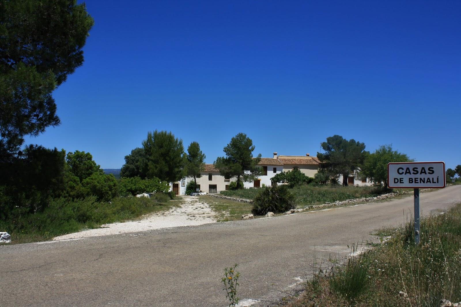 Caserio de Benalí, Sierra de Enguera, Valencian Community, Spain