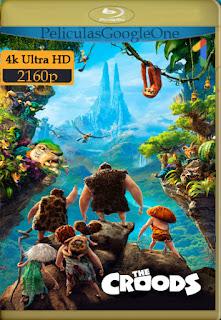 Los Croods (2013) [4K 2160p UHD HDR] [Latino-Inglés] [LaPipiotaHD]