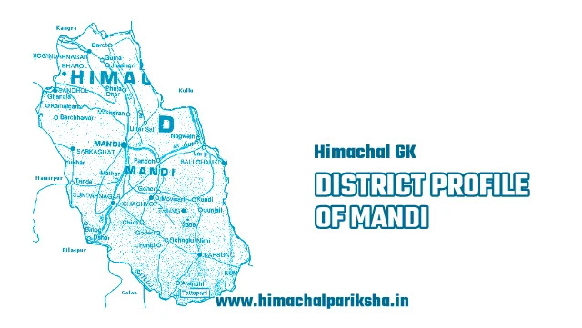 District Profile of Mandi District - Himachal GK - Himachal Pariksha