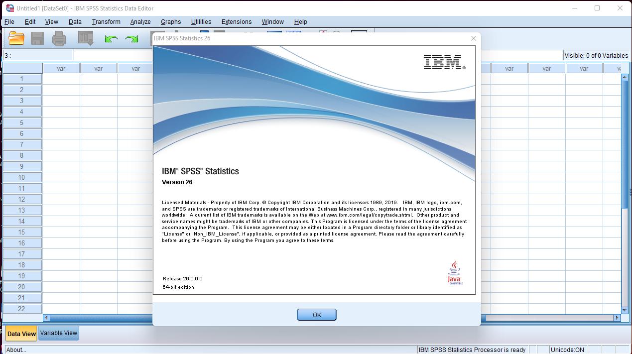 Cara Install IBM SPSS Statistics Full Version