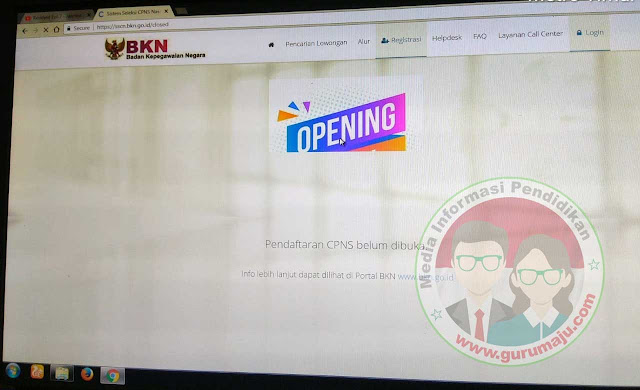 Cara Membuka Situs sscn.bkn.go.id dengan Mudah