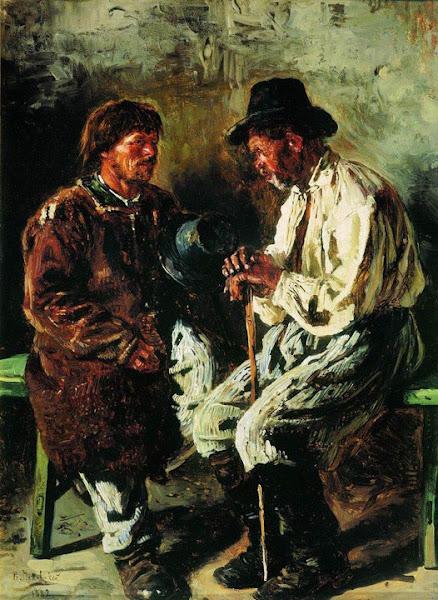 Маковский Владимир Егорович - Два украинца. 1882