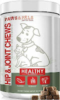 Glucosamine Chondroitin for Dogs Cats Omega 3 Hip Joint Supplement Soft Chews