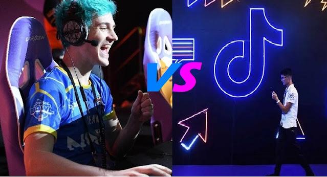 TikTokers VS Gamers : Perseteruan 2 Kemudharatan