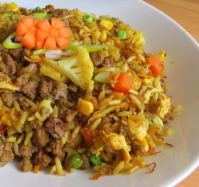 Curried Beef Fried Rice