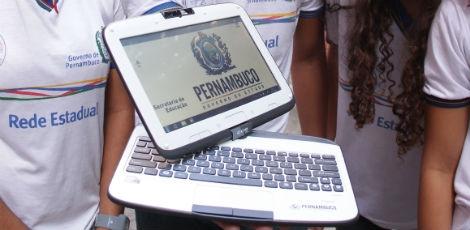 Tablet-PC doado pelo estado de Pernambuco, para os estudantes da rede estadual do ensino médio.