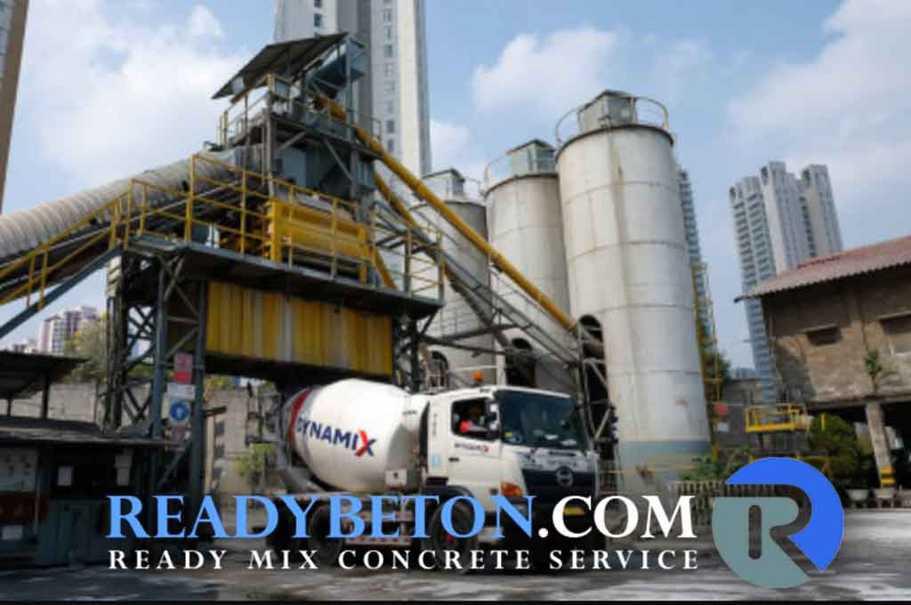 harga beton readymix per M3 Terbaru 2021