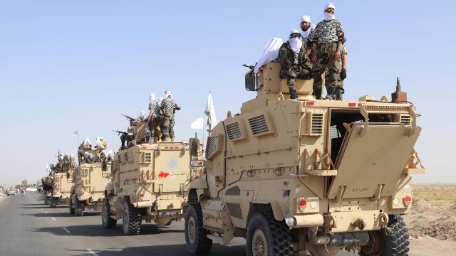 Ribuan Alutsista AS Kini Dipakai Taliban, Nilainya 9 Kali Belanja Pertahanan RI