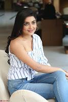 Avantika Mishra in One Shoulder Crop Top and Denim Jeggings ~  Exclusive 046.JPG