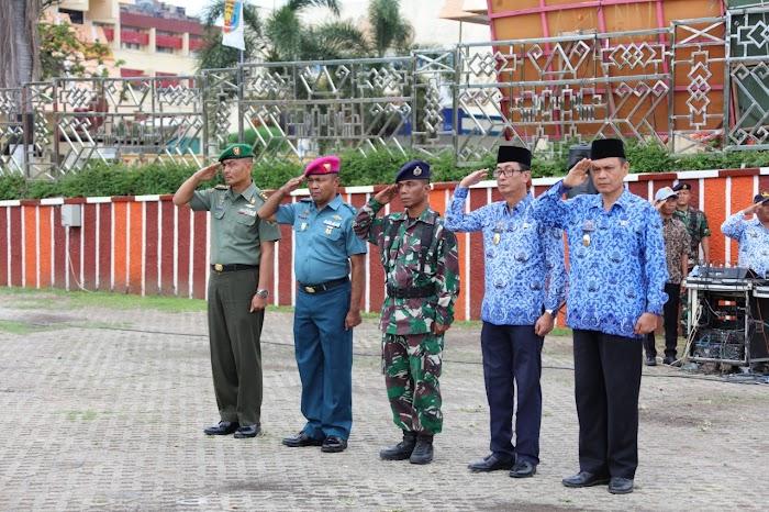Peringatan Hari Bela Negara Ke-71 di Provinsi Lampung, Pemprov Ingatkan Pentingnya Penanaman Nilai-Nilai Cinta Tanah Air