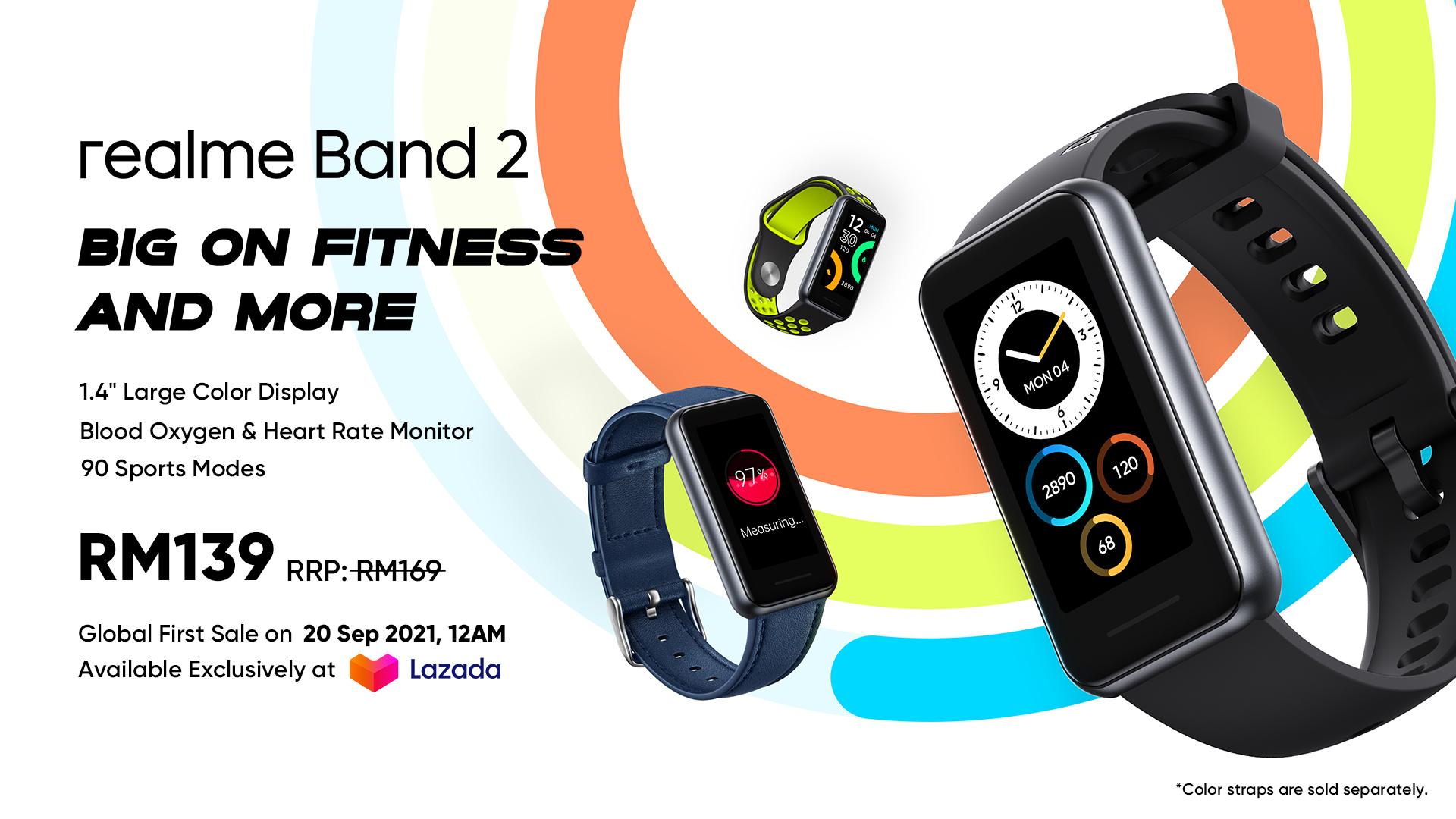 Realme band 2, realme watch, realme band, realme band price, realme malaysia,