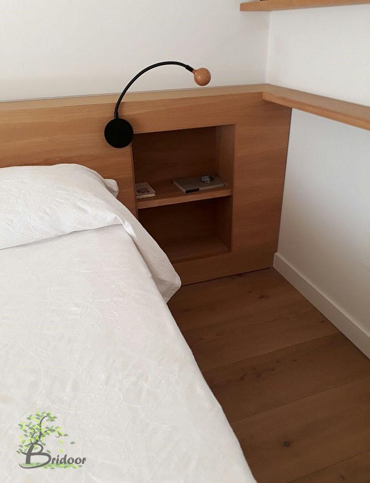 Bridoor S.L: Muebles curvos y cabeceros a medida para un piso en Madrid