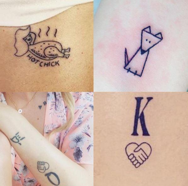 świat Laury K Minimalizm W Wersji Tattoo