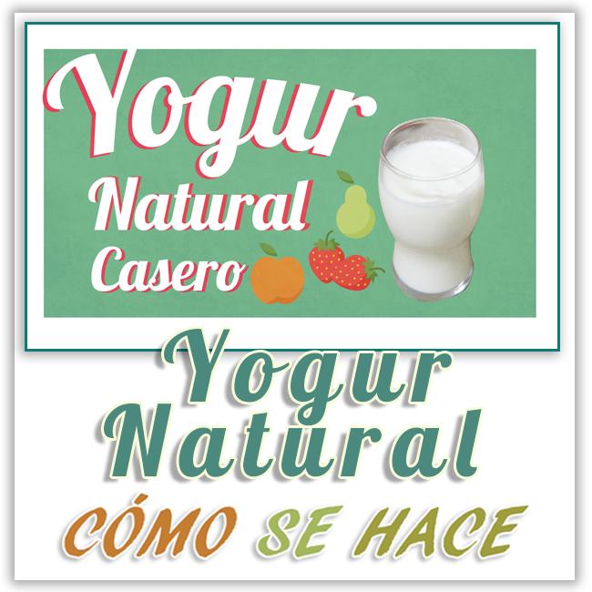 3 formas de hacer yogur natural casero