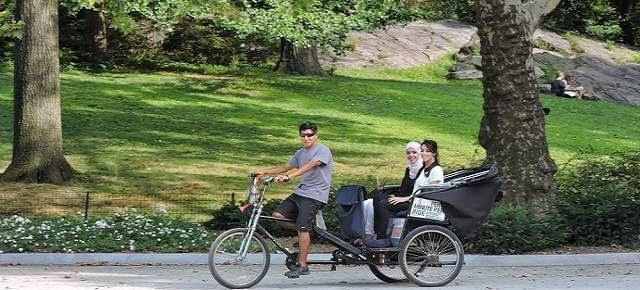 Pedicab Rickshaw Tours at Central Park