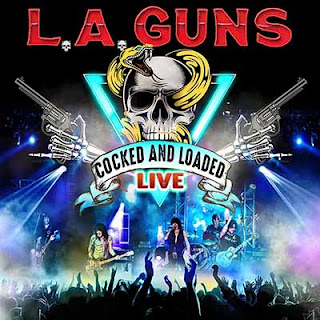 """Ο δίσκος των L.A. Guns - """"Cocked & Loaded Live"""""""