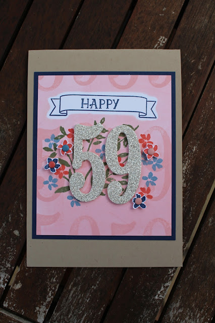 Number of Years Stamp Set, Large Numbers Framelits Dies, Stampin' Up!