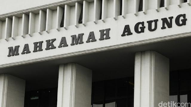 MA Tolak Gugatan BPN Prabowo Lawan Bawaslu