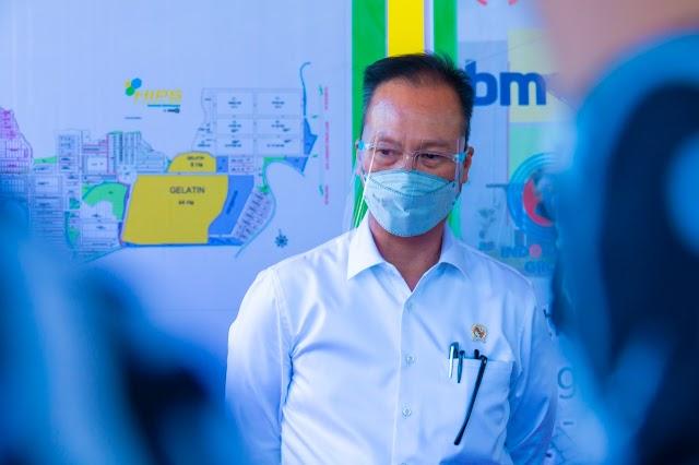 September,  PMI Manufaktur Indonesia  Lampaui China
