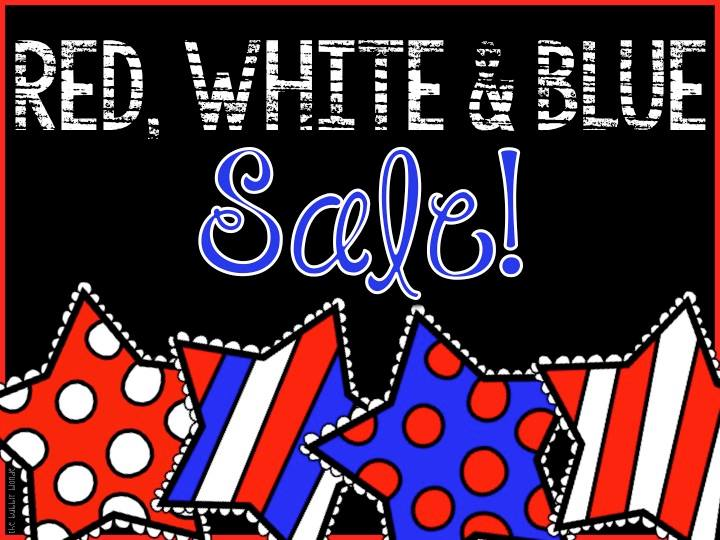Fern Smith's 20% Off TeachersPayTeachers Fourth of July Sale!