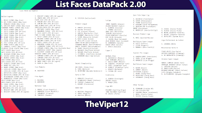 PES 2021 Extracted Facepack DLC 2.0