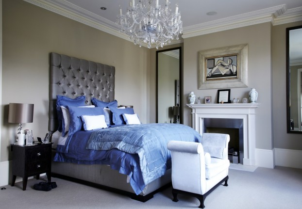 David Dangerous Modern Victorian Bedroom