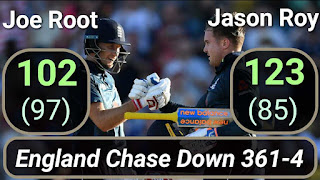 England Chase Down 361 - West Indies vs England 1st ODI 2019 Highlights