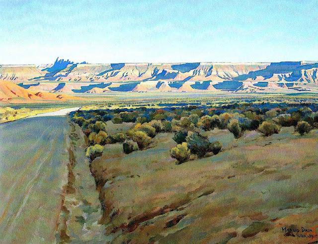 a Maynard Dixon painting