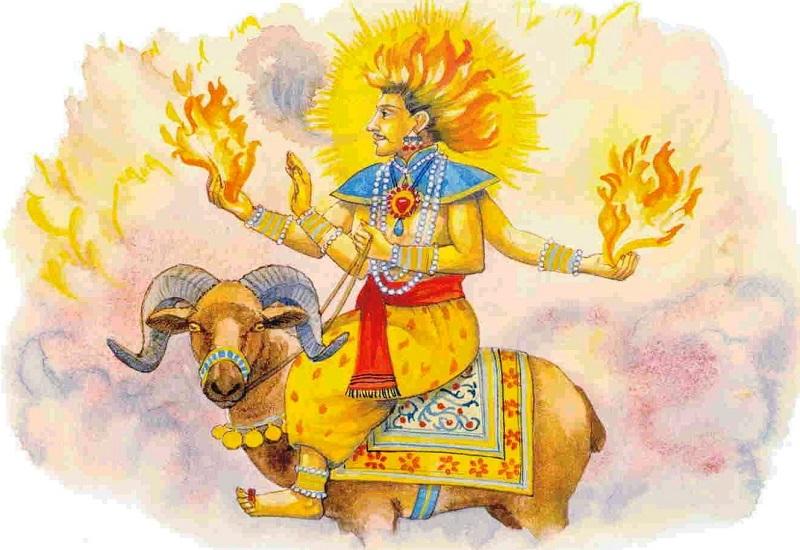 Agni - O Significado e a História do Deus do Fogo no Hinduísmo