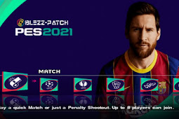 PES 2021 BLEZZ Patch Kamera PS4 PS2 ISO