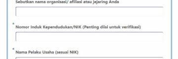 Panduan Pengisian Form Pengajuan BPUM UMKM Rp. 2,4 Juta Melalui Link siapbersamaumkm.com