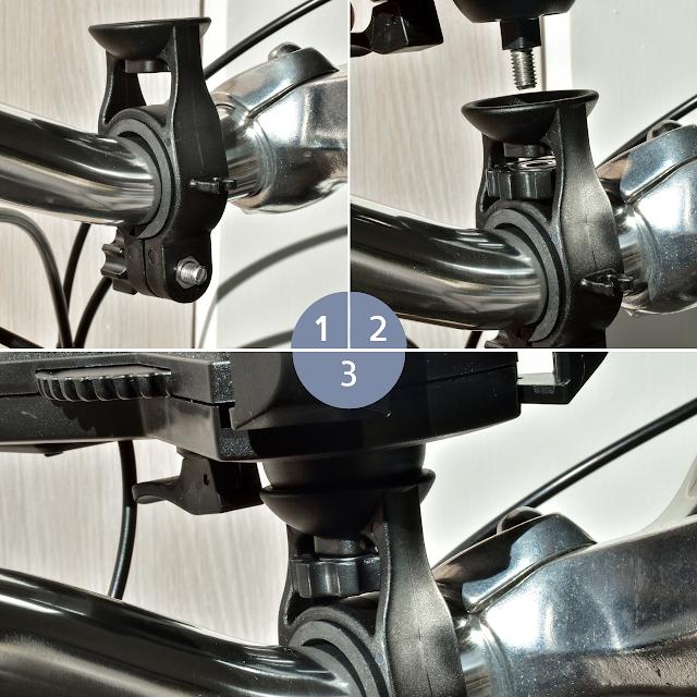 imiro 電動自行車,手機架組裝