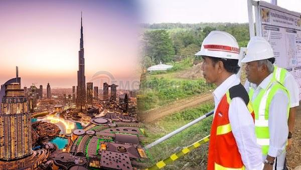 Jokowi Ingin Ibu Kota Baru RI Kalahkan Dubai
