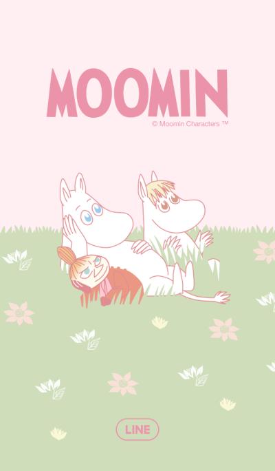 Moomin Soothing Pink