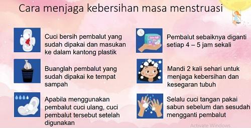 cara menjaga kebersihan saat menstruasi untuk remaja