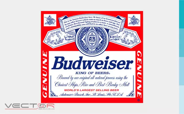 Budweiser (1987-1999) Label - Download Vector File SVG (Scalable Vector Graphics)