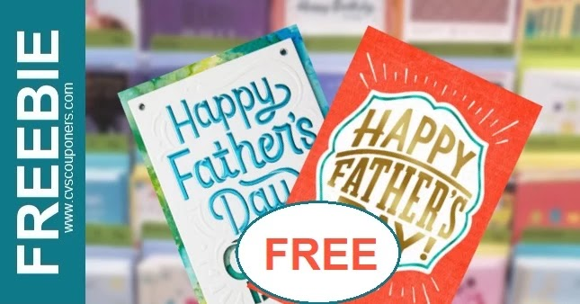 FREE Father's Day Hallmark Cards at CVS 6/13-6/19
