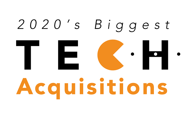 Biggest acquisitions of tech in 2020