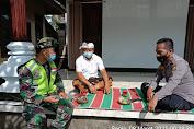 """Persiapan Upacara """"NGABEN"""" Anggota Kodim 1626/Bangli  Tetap   Himbau Warga Patuhi Prokes Covid-19"""