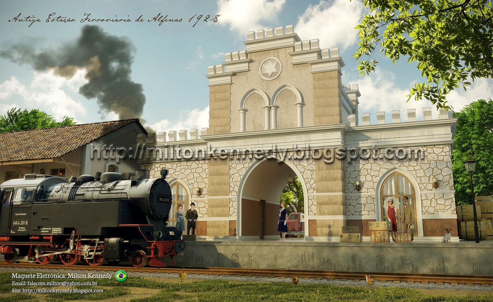 Antiga Estação Ferroviária de Alfenas